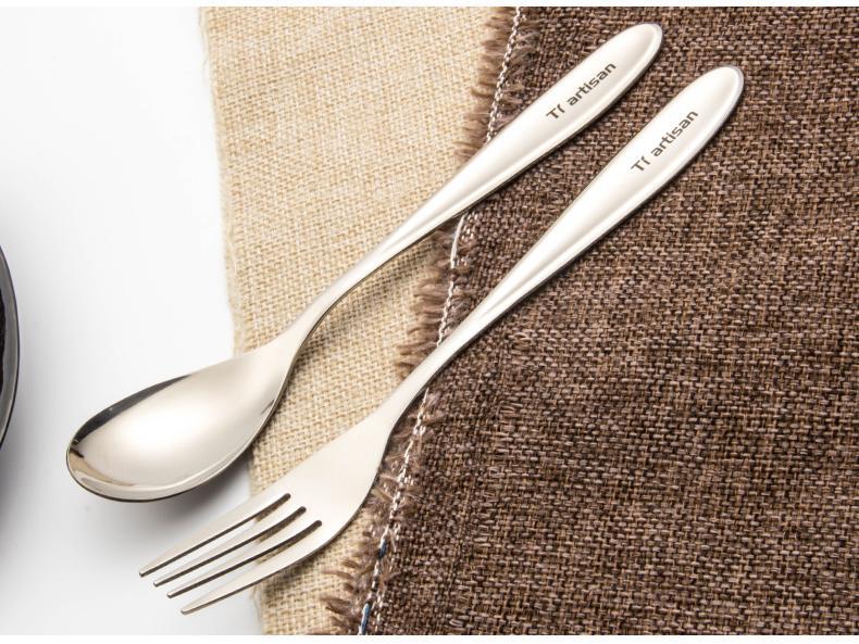 钛金属在餐具及工艺品中的应用